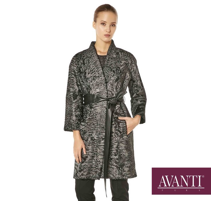 AVANTI FURS - MODEL: PALACE SWAKARA JACKET with Leather Belt #avantifurs #fur #fashion #fox #luxury #musthave #мех #шуба #стиль #норка #зима #красота #мода #topfurexperts
