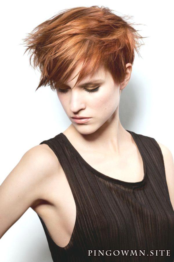 Kupfer Haarfarbe Kurze Haare Frisuren Trend 123 Haar
