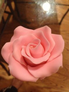 How to Make Fondant Rose-easy guide! Can use gum paste too