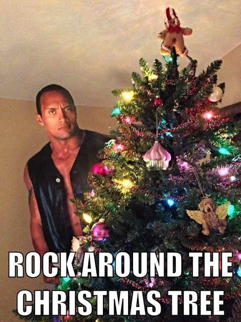 The Rock Around the Christmas Tree - Friday Frivolity - Holiday Cheer, One Way or Another - Christmas Memes + LINKY for all things Fun, Funny, Happy & Hopeful!
