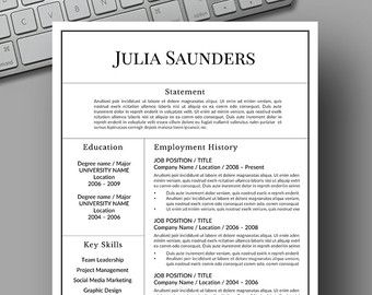 resume template instant download microsoft word check out httpswww