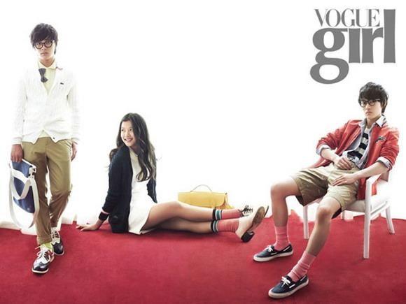 Lee Min Ho, Kim Yoo Jung y Yeo Jin Gu, reparto de The Moon That Embraces the Sun.