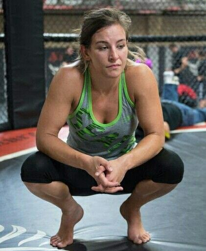 Miesha Tate training for another UFC Bantamweight Title.
