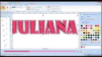Pe Design Apliques em Letras - aula 27 - YouTube