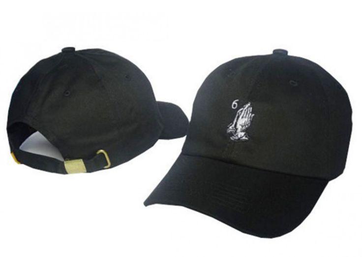 Drake+Six+God+6+God+CAP+exclusive+custom+black+baseball+cap+golf+cap+bent+brimmed+hat