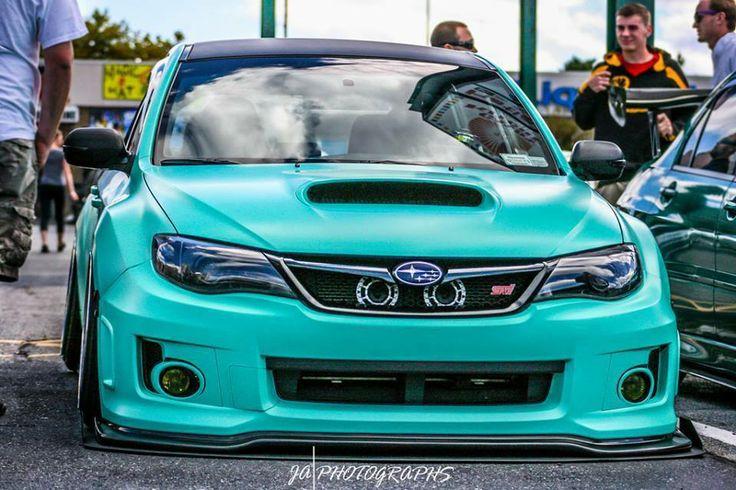 Mean Looking Subi Jdm Auto Subaru Wrx Hatchback