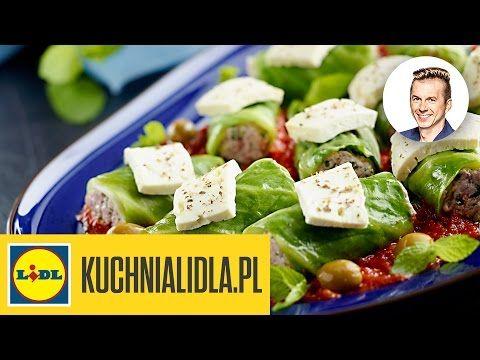 Proste gołąbki greckie - Karol Okrasa - Przepisy Kuchni Lidla - YouTube
