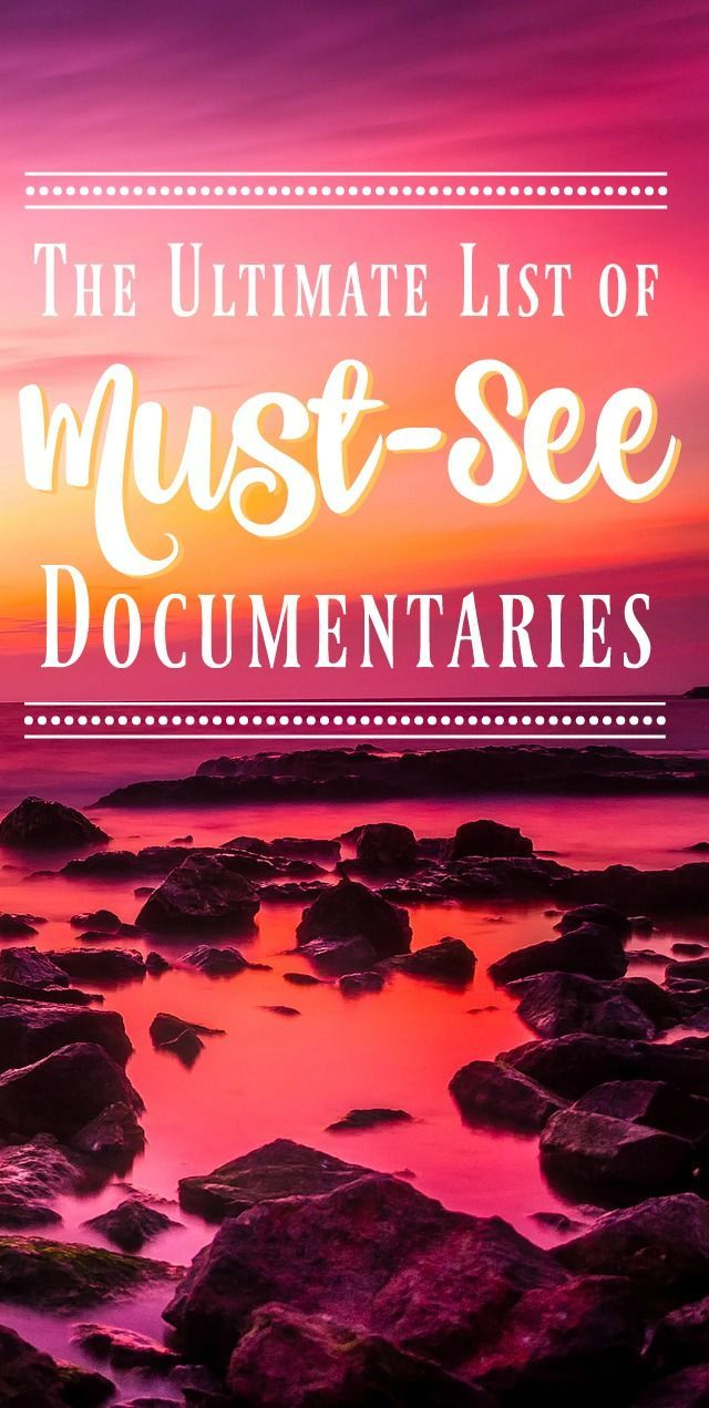 If you're looking for the best documentaries to watch, this list is for