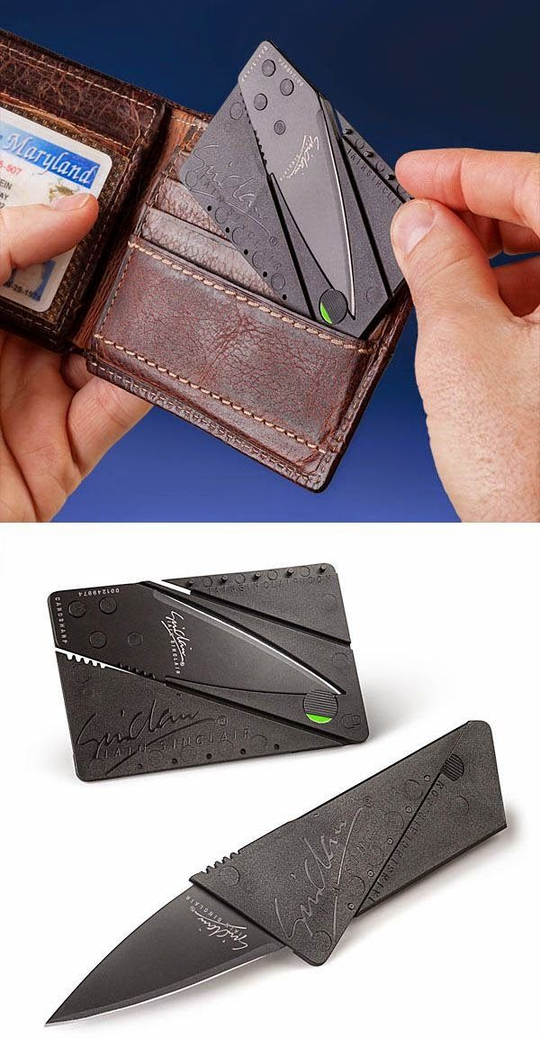 Credit Card sized Knife $2.51 | Cool Gadget Toys