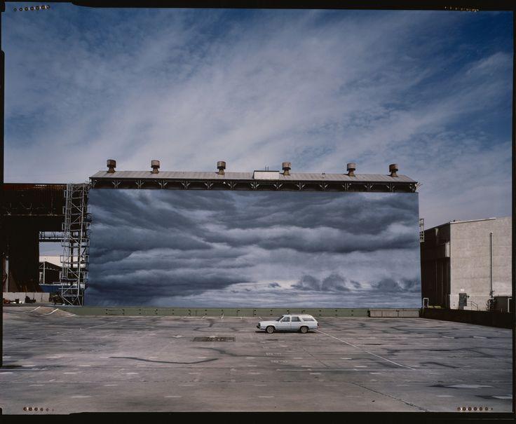 Cloud Wall, Paramount; Douglas Hill (American, born 1950); Los Angeles, California, United States; negative 1982; print 1998; Silver-dye bleach print; 47.3 × 60 cm (18 5/8 × 23 5/8 in.); 2003.525.2; Gift of Nancy and Bruce Berman; J. Paul Getty Museum, Los Angeles, California