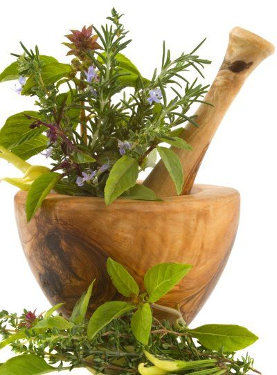 A good mortar and pestle is a staple in every herbal medicine cabinet. www.rawnewlife.com