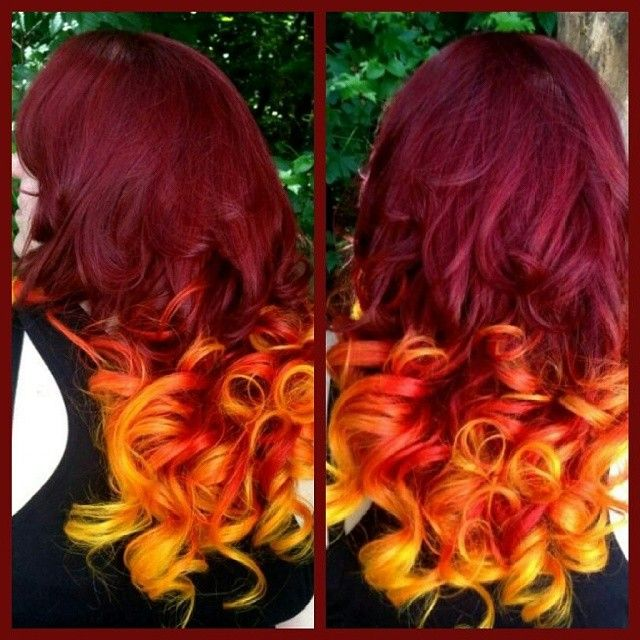 Flame On By Rogue Hair Artist Gina Brucato Burgundy
