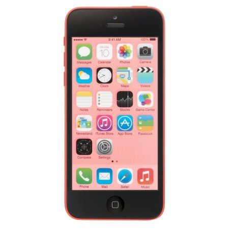 Apple iPhone 5c 32GB Unlocked GSM 4G LTE Dual-Core Certified Refurbished Phone w/ 8 MP Camera - Pink CRB