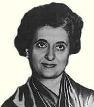 Индира Ганди — индийский государственный деятель, премьер-министр Индии в 1966-1977 и 1980-1984. Дочь Джавахарлала Неру - http://to-name.ru/biography/indira-gandi.htm