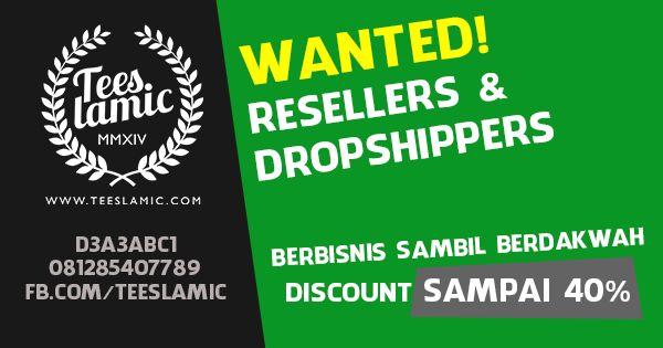Program Reseller dan Dropship | Teeslamic.com