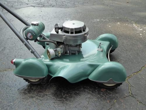 coolest looking lawnmower what is it who made it?