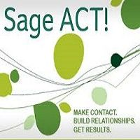 Sage act application along with other addons if you have any. You can also use your local drives to the same Act cloud interface to exchange data between local and cloud.