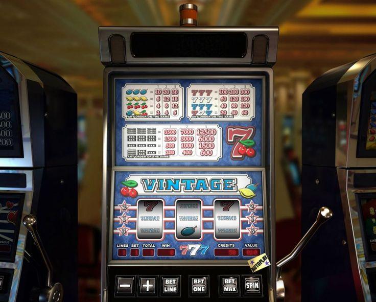 Vintage! Classic slot 3 reel! For more games register on http://casino-goldenglory.com/
