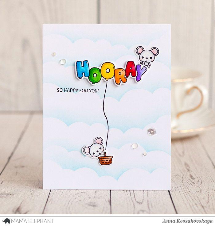 Mama Elephant Stamp Highlight: Celebration Balloons