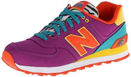 New Balance Women's Wl574 Pop Safari Pack Running Shoe,Purple/Yellow,5 B US New Balance http://www.amazon.com/dp/B00H2R2MVO/ref=cm_sw_r_pi_dp_blG9tb1RFJFCD