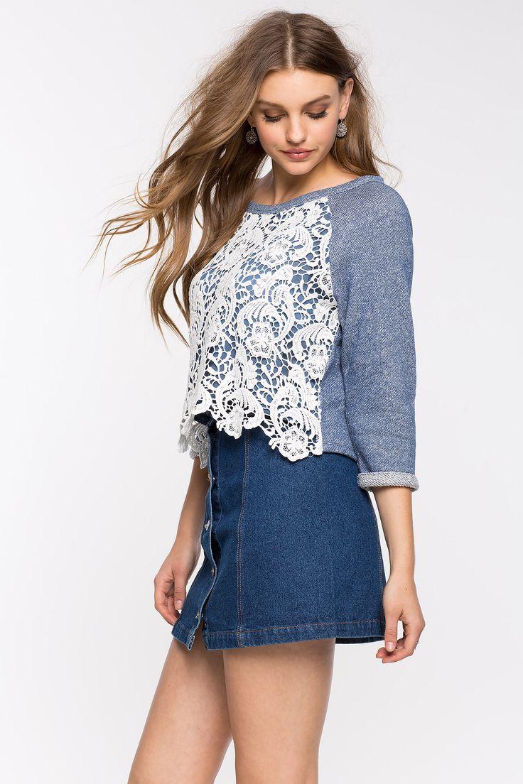 Свитшот Размеры: S, M, L Цвет: серый, голубой Цена: 945 руб.     #одежда #женщинам #свитшоты #коопт