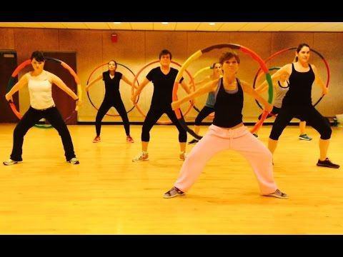 """JOLENE"" Miley Cyrus - Dance Fitness Workout w/ Weighted Hula Hoops Valeo Club - YouTube"