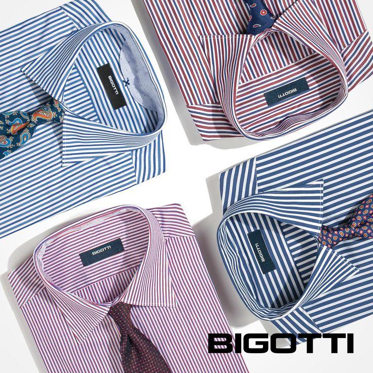 #Create a #stand-#out #office #look #matching a #printed #tie to a #striped #shirt! www.bigotti.ro #Bigottiromania #moda #barbati #camasi #dungi #cravate #accesorii #accessories #stripes #mensfashion #menswear #mensclothing #mensstyle #fashiontag #smart #mixandmatch