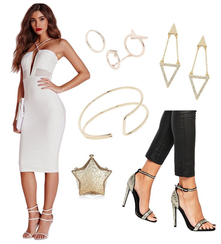 night out outfit shopping