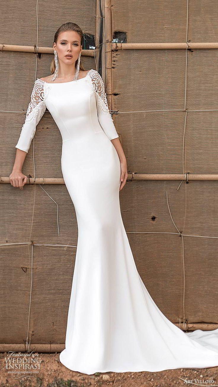 Ari Villoso 2020 Wedding Dresses Feel Yourself Bridal Collection Wedding Inspirasi Classy Wedding Dress Modest Wedding Dresses With Sleeves Wedding Dress Long Sleeve [ 1308 x 736 Pixel ]
