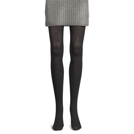 Womens Textured Knit Tights by BEARPAW review color Camel