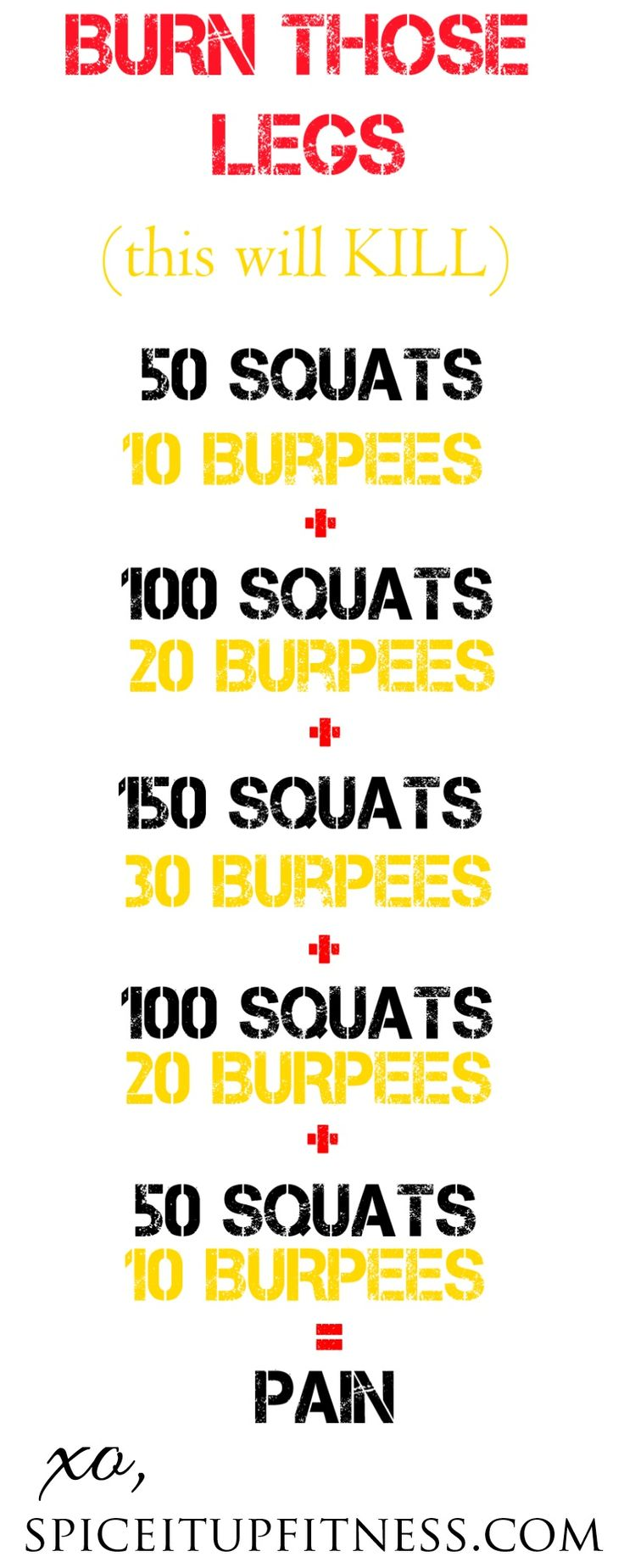 Awesome home workout for making those legs BURN! :-) | See more about home workouts, leg workouts and workout at home.