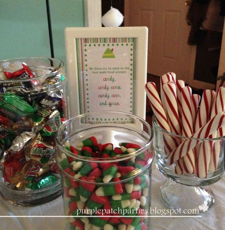 """Buddy the Elf Christmas/Holiday Party Ideas 