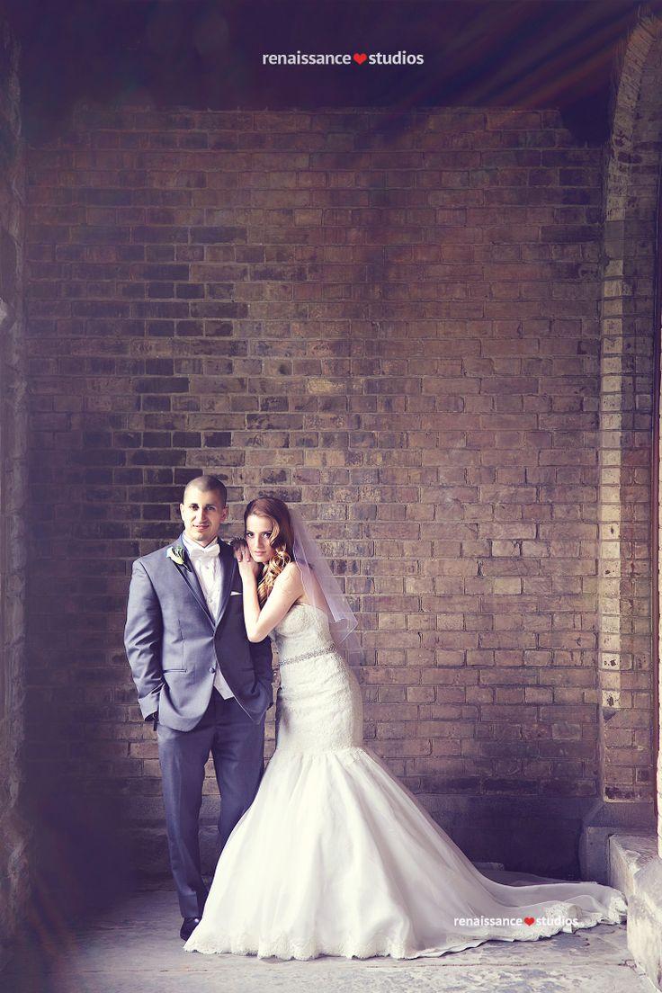 Stunning bride and groom! Renaissance Studios Photography, Toronto Ontario Wedding Photographers
