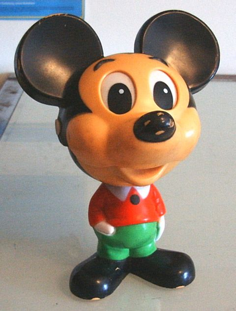 """The Georgie Girls strip """"Think Pink"""" includes this talking Mickey Mouse!"""