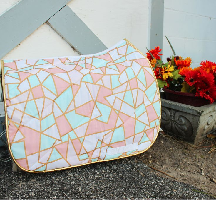 Pastel Triangles Pattern Pad