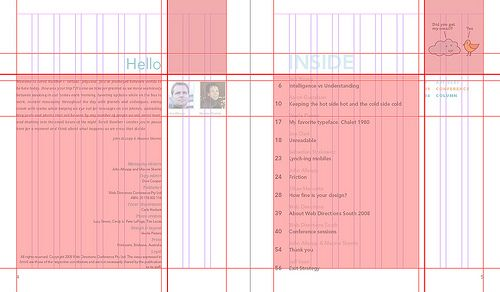 Scroll magazine grid grid and layout for editor 39 s note for Table grid design