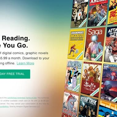Books: Comixology launches new digital comic subscription service