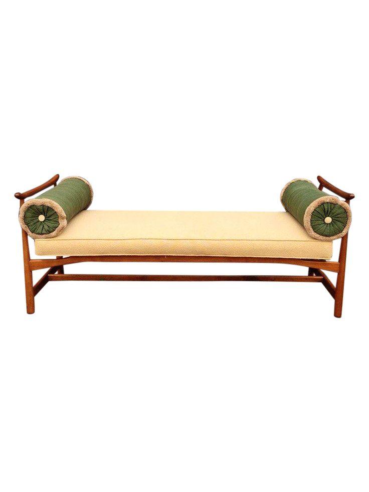 Mid-Century Harvey Probber Asian Bench Form on Chairish.com