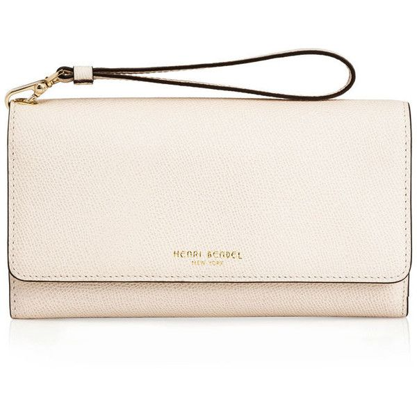 Henri Bendel Uptown Out & About Wallet ($198) ❤ liked on Polyvore featuring bags, wallets, coin purse, snap wallet, change purse wallet, henri bendel bags and henri bendel wallet