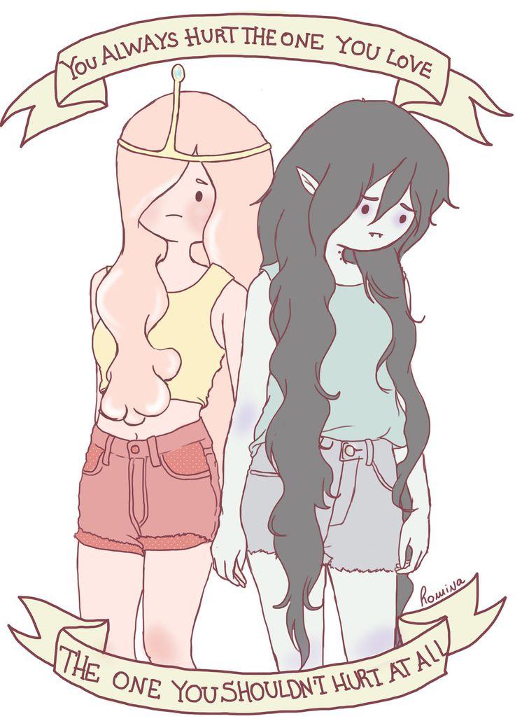 This is kinda sad ||| Bubbline /// Marceline and Princess Bubblegum /// Adventure Time |||