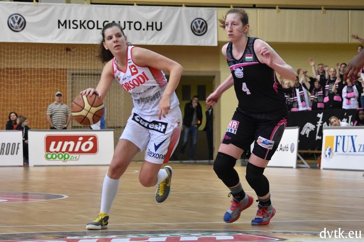 Bálint Réka a szezon utolsó mérkőzésén (Aluinvent DVTK - PINKK 59-67)
