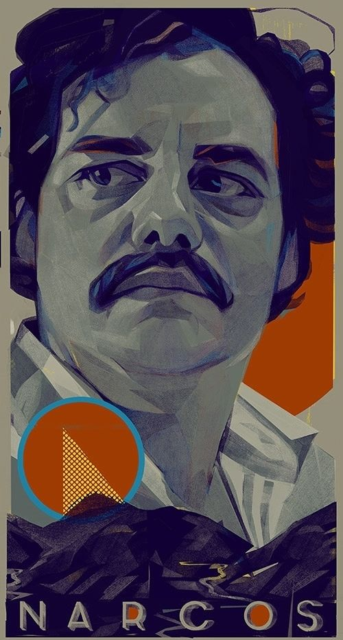 Pablo Escobar (Wagner Moura) By : Kyle Scott