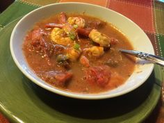 Enjoy this Spicy Shrimp and Tomato Soup HCG Phase 2 shrimp recipe during your round of P2. It's warm, savory, and satisfying on the Low Calorie HCG Phase 2