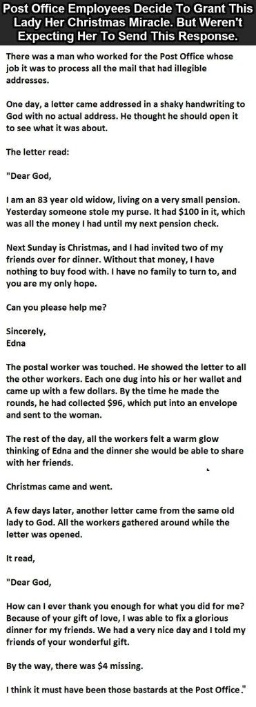 They Thought They Were Doing Something Nice For #Christmas. But She Said This…