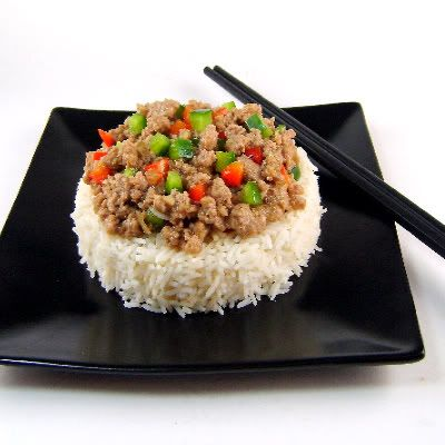 Minced Chicken with Oyster Sauce