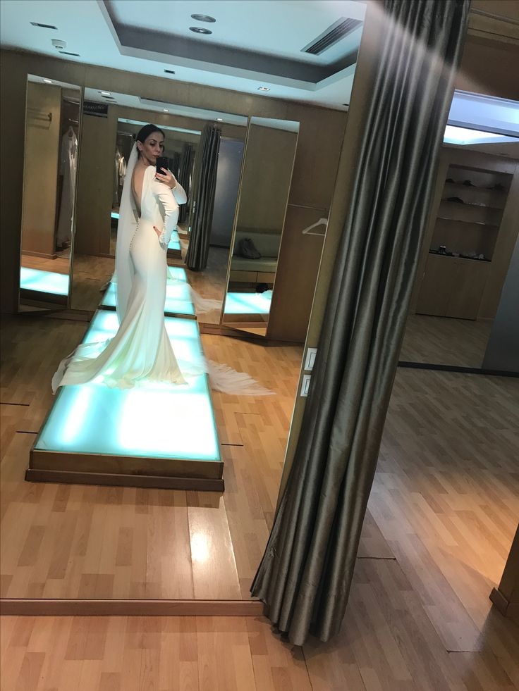 My wedding dress Pronovias