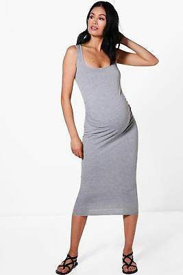 408668e75059 Boohoo Womens Maternity Ruby Over The Bump Bodycon Dress | Global ...