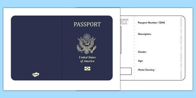 ideas about passport template on pinterest international passport