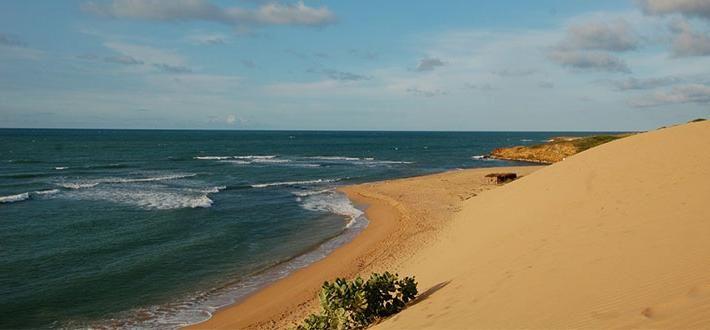 Les dunes de Taroa , Colombia