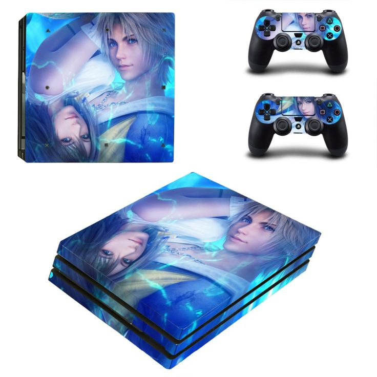 >> Click to Buy << PS4 Pro Skin Sticker Cover For Sony Playstation 4 Pro Console&Controllers - Final Fantasy XV #Affiliate